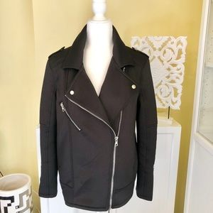 FOREVER 21 MOTORCYCLE JACKET (POLYESTER )